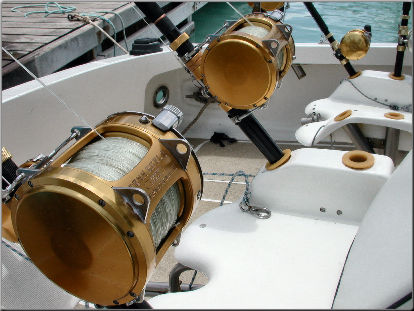 Sportfisher equipment and gear big game deep sea for Deep sea fishing gear